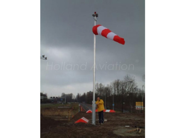 HA 120 RG Windsock Installatie Extern light