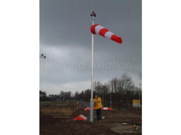 HA 120 RG Windsock Installatie Extern light
