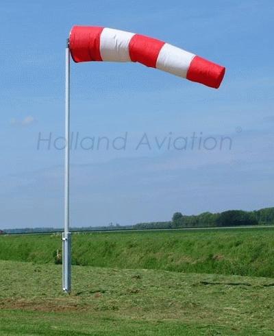 HA 120 RG Windsock Installation unlighted