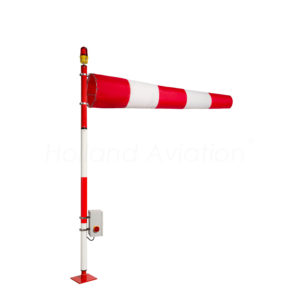 Airport windsock assemblies