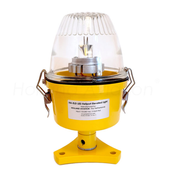 HA-ELD LED heliport elevated light white glass