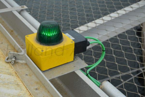HA OSH 11 Helideck Perimeter Light in use
