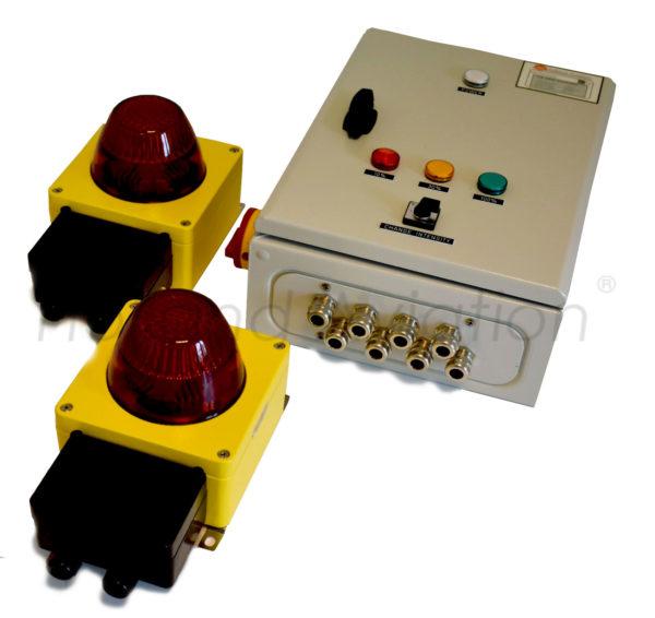 HA SLS Double Status Light System