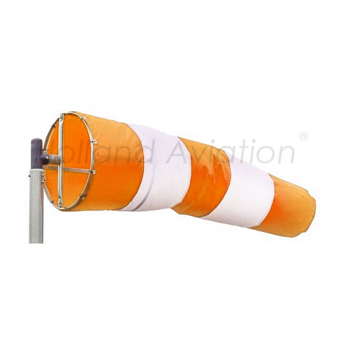 Windsock orange white productphoto