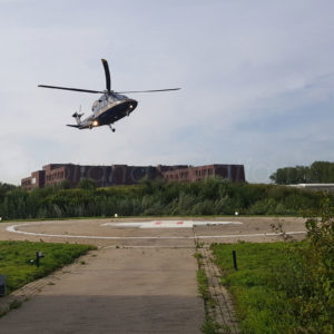 Heliport lighting and equipment