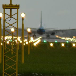 Flughafenbeleuchtung und Ausrüstung