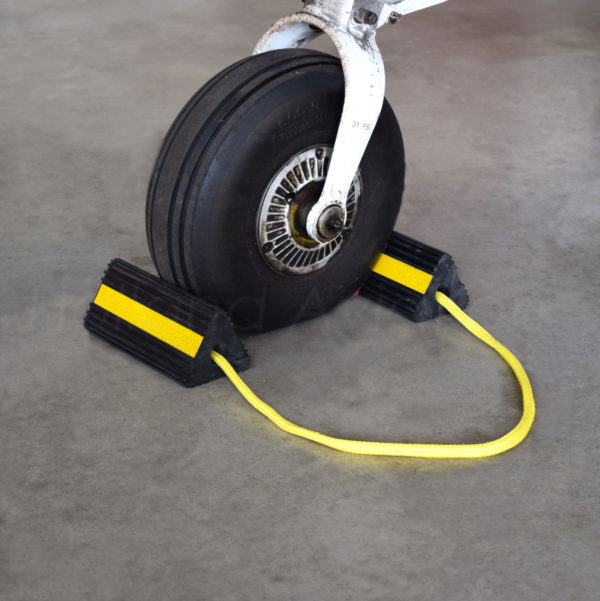 wheelchock 200 in use